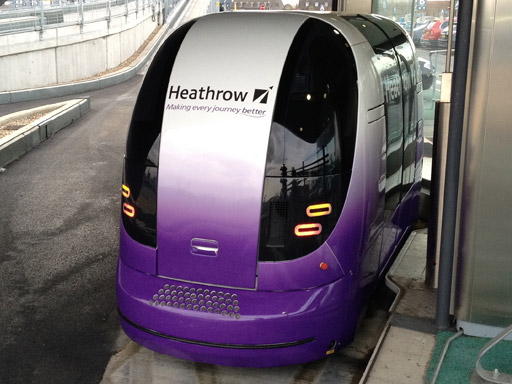 Heathrow Train Pod